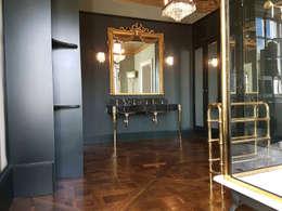 حمام تنفيذ The British Wood Flooring Company