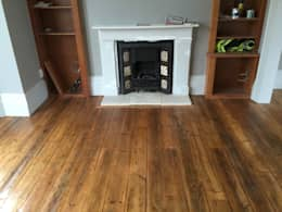 classic Living room by The British Wood Flooring Company