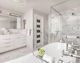 modern Bathroom by Clean Design