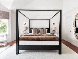 Projekty,  Sypialnia zaprojektowane przez Clean Design