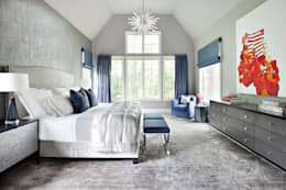 Master Bedroom: modern Bedroom by Clean Design