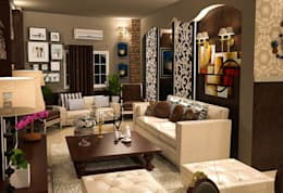 classic Living room by Taghred elmasry