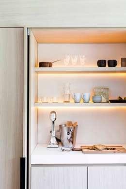 Project K: moderne Keuken door JUMA architects