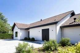 Project K: moderne Huizen door JUMA architects