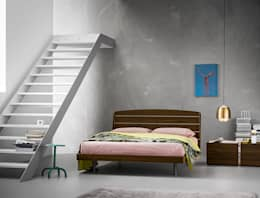 Recámaras de estilo moderno por Dall'Agnese