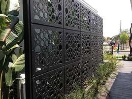 Jardines de estilo moderno por homify