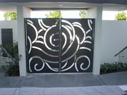 Garage Doors by NATUREL METAL FERFORJE