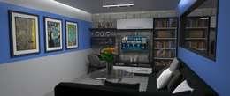 Sala de Estar : Salas / recibidores de estilo moderno por Atahualpa 3D