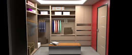 Armario tipo Vestier: Closets de estilo moderno por Atahualpa 3D