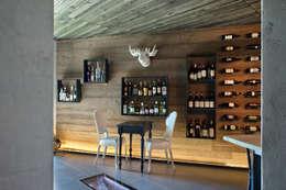 modern Wine cellar by iarchitects