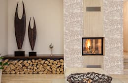 modern Living room by Elalux Tile