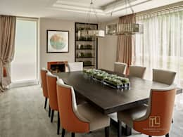 modern Dining room by Tailored Living Interiors