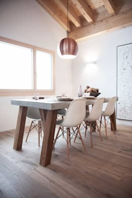 rustic Dining room by Mood Interieur