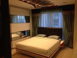 507 meenakshi: modern Bedroom by KEYSTONE DESIGN STUDIOS