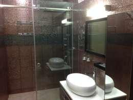 507 meenakshi: modern Bathroom by KEYSTONE DESIGN STUDIOS