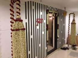 507 meenakshi:  Walls by KEYSTONE DESIGN STUDIOS