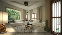 Interiors with Ultra Modern Designs: modern Living room by Premdas Krishna
