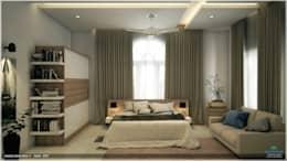 Interiors with Ultra Modern Designs: modern Bedroom by Premdas Krishna
