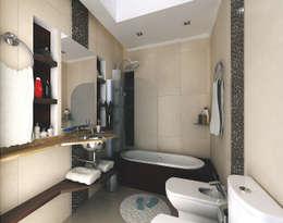 modern Bathroom by G-R Arquitectura