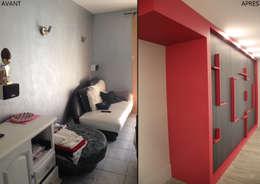 Koya Architecture Intérieure: modern tarz Oturma Odası