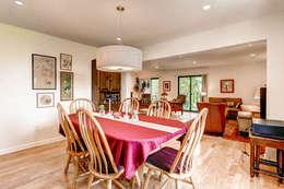 Condo on Washington Park : classic Dining room by Studio Design LLC