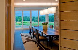modern Dining room by Cunningham | Quill Architects