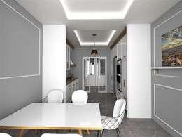 Projekty,  Kuchnia zaprojektowane przez Murat Aksel Architecture