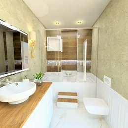 حمام تنفيذ Murat Aksel Architecture