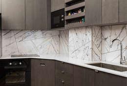 modern Kitchen by STUDIO RAZAVI ARCHITECTURE
