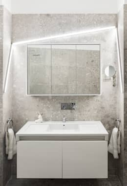 modern Bathroom by STUDIO RAZAVI ARCHITECTURE