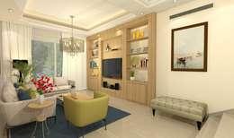 Гостиная в . Автор – Ain Designs Studio