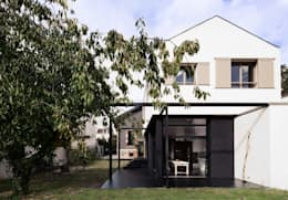 modern Houses by Florence Gaudin architecte