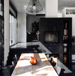 modern Kitchen by Florence Gaudin architecte