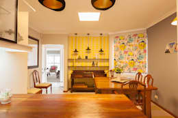 House B - House Design : eclectic Dining room by Redesign Interiors