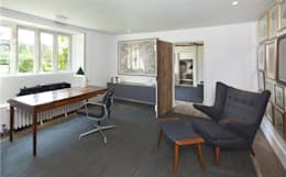 landelijke Studeerkamer/kantoor door My-Studio Ltd