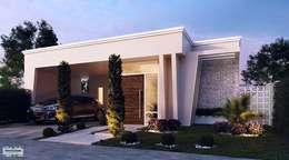 Casas de estilo moderno por Art&Contexto Arquitetura