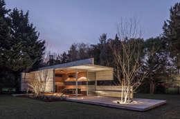 Pabellón Casa Torcuato: Casas de estilo moderno por Besonías Almeida arquitectos