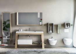 minimalistic Bathroom by krayms A&D - Fa&Fra