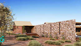 Casas de estilo ecléctico por Grupo G Cinco
