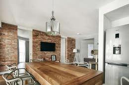 modern Living room by BLACKHAUS