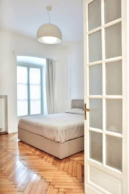 minimalistic Bedroom by officina8a.com