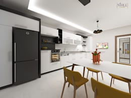 modern Kitchen by nihle iç mimarlık