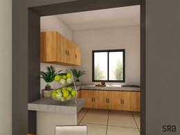 Casa Ana: Cocinas de estilo moderno por SRA arquitectos