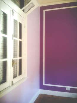 DECORACION - Trabajos integrales: Dormitorios de estilo clásico por PLATZ