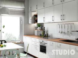 scandinavian Kitchen by MIKOŁAJSKAstudio