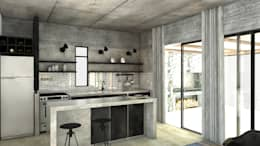 modern Kitchen by FAARQ - Facundo Arana Arquitecto & asoc.