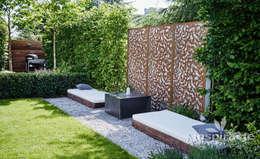 Jardines de estilo moderno por Studio architektury krajobrazu INSPIRACJE
