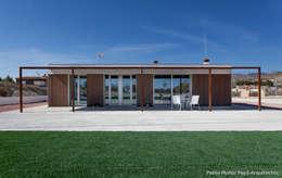 Projekty, nowoczesne Domy zaprojektowane przez Pablo Muñoz Payá Arquitectos