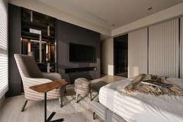 Dormitorios de estilo asiático por CJ INTERIOR 長景國際設計
