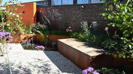 Jardines de estilo moderno por KLAP tuin- en landschapsarchitectuur